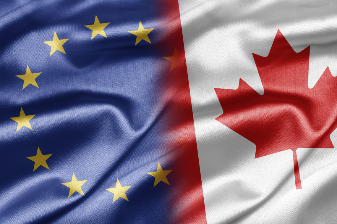 Фото Еврокомиссия поддержала решение Европарламента о подписании торгового соглашения с Канадой