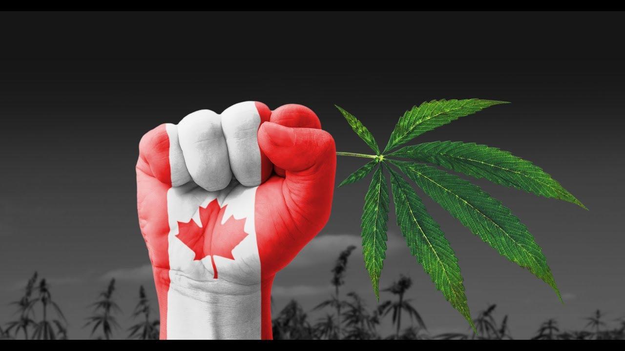 Фото Канада легализовала курение марихуаны